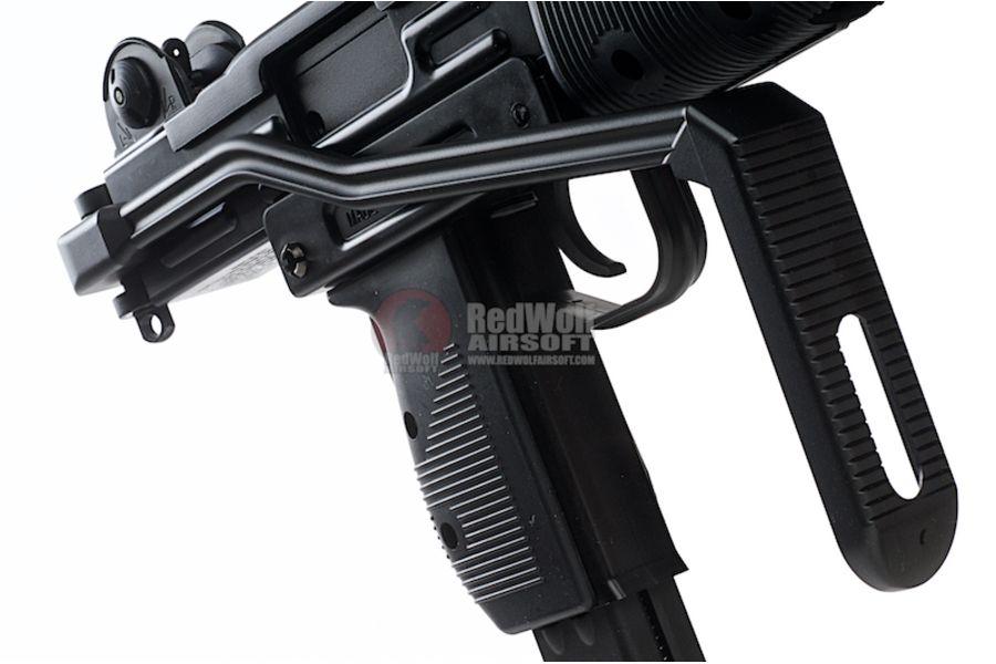 KMB07HN 4L - KWC Mini Uzi CO2 Blowback 4.5mm SMG Air Gun
