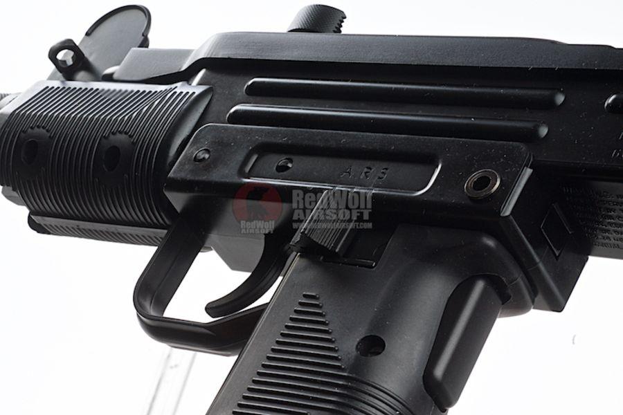 KMB07HN 5L - KWC Mini Uzi CO2 Blowback 4.5mm SMG Air Gun