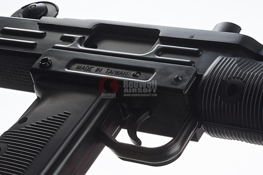KMB07HN 7L - KWC Mini Uzi CO2 Blowback 4.5mm SMG Air Gun