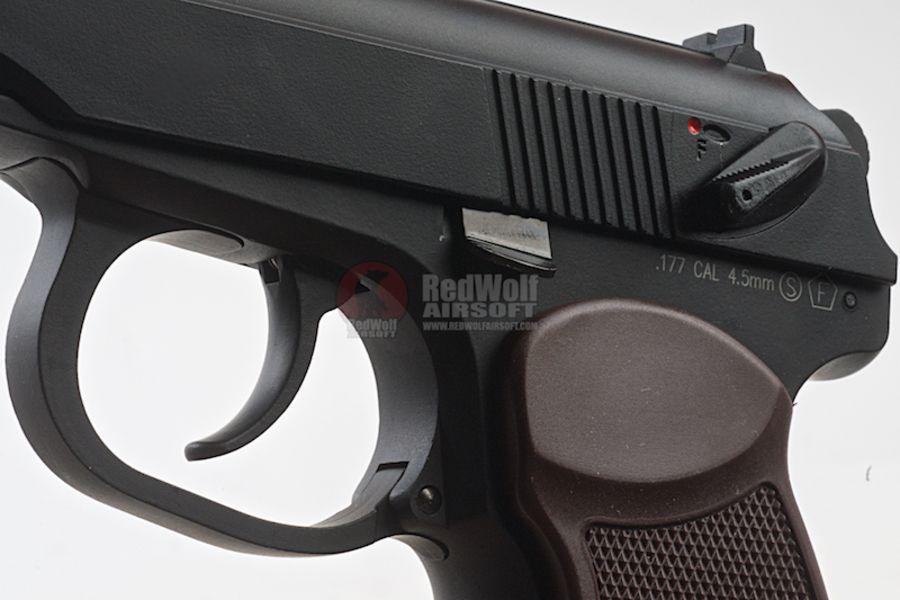 KMB44AHN 3L - KWC MKV PM CO2 Blowback 4.5mm Air Gun Full Metal