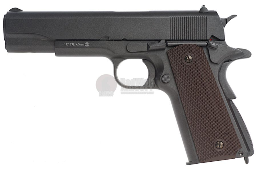 KMB76AHN 1L - KWC 1911 CO2 BlowBack Version 4.5mm Air Gun (Full Metal)