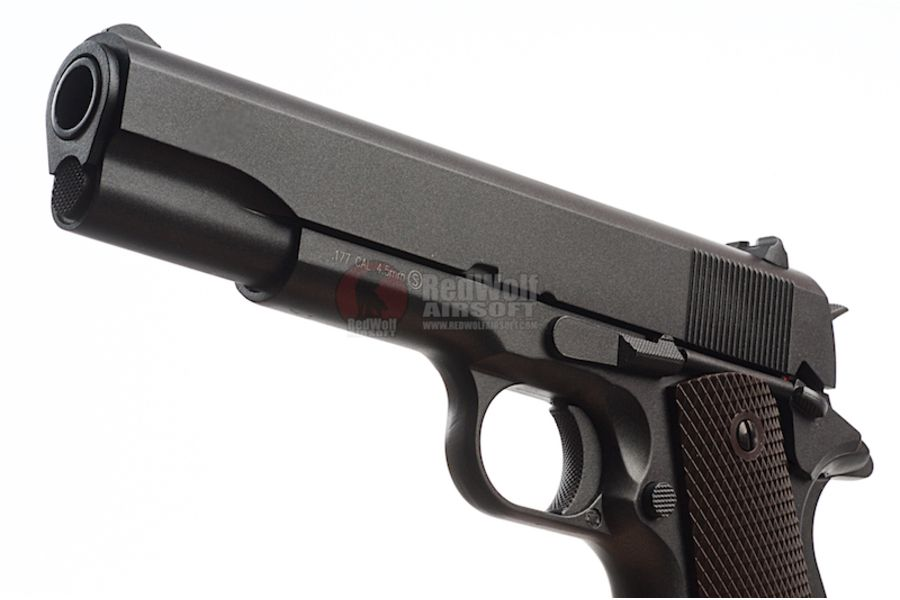 KMB76AHN 4L - KWC 1911 CO2 BlowBack Version 4.5mm Air Gun (Full Metal)