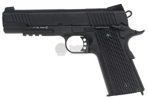 KMB77AHN 1L 300x200 - KWC M1911 A1 TAC CO2 Blowback Version 4.5mm Air Gun