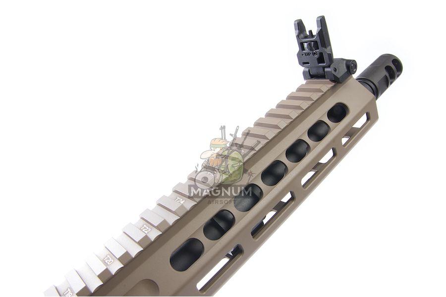 KRYTAC Barrett REC 7 SBR AEG Rifle - FDE