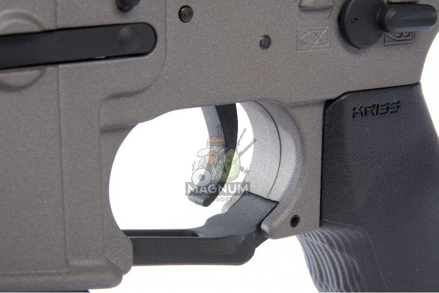 KRYTAC Barrett REC 7 SBR AEG Rifle - Tungsten
