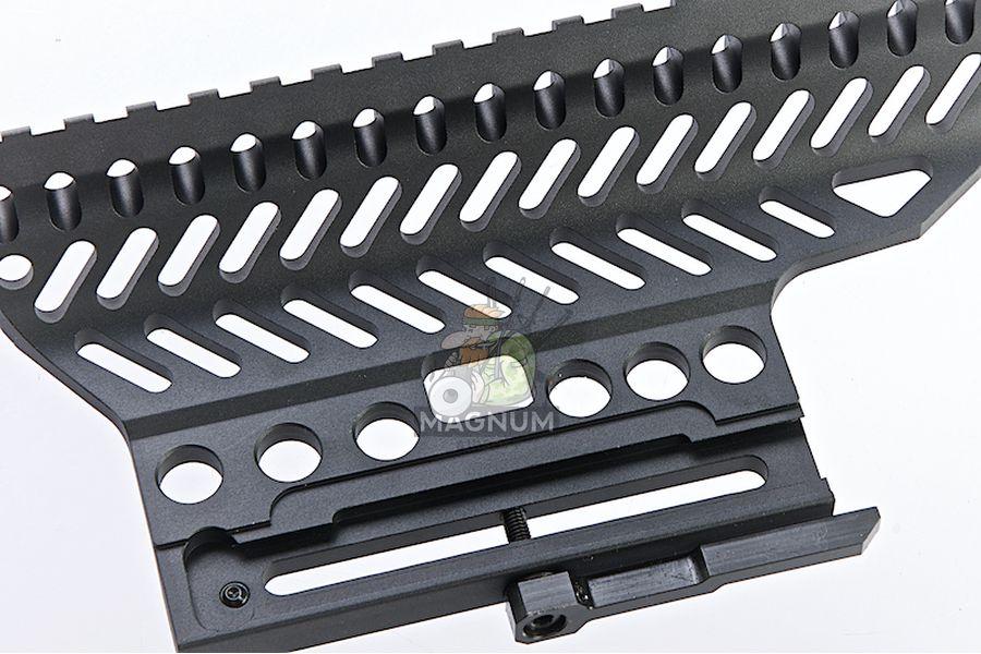 LCT Z-Series B-13 AK Slide Mount Rail - Black