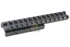 LCT Z-Series B-16 Rail Extend  - Black