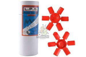 L.P.S. Mono Wad XP (50pcs per can) for APS CAM MK2 & X power Shells Cartridge - Red