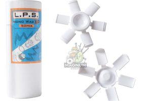 L.P.S. Mono Wad XP (50pcs per can) for APS CAM MK2 & X power Shells Cartridge - White