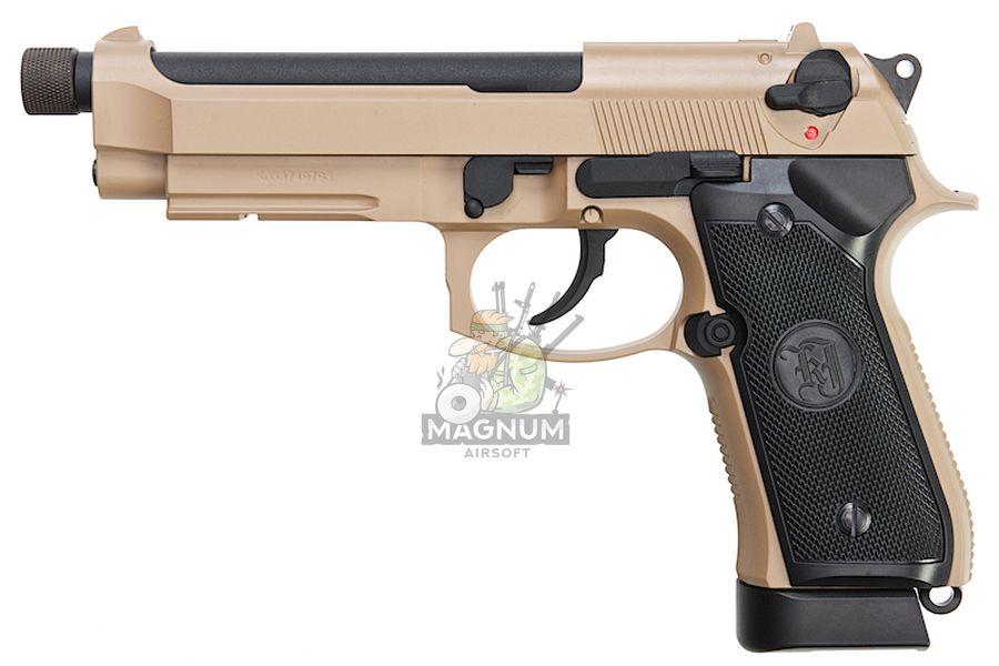 M9A1 GAS TAN TBC 1 - Пистолет KJW M9A1 GBB, GAS M9A1-TBC.GAS TAN