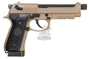 M9A1 GAS TAN TBC 2 300x200 - Пистолет KJW M9A1 GBB, GAS M9A1-TBC.GAS TAN