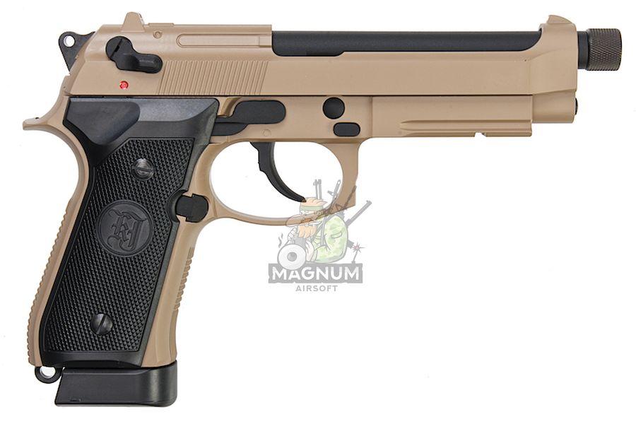 M9A1 GAS TAN TBC 2 - Пистолет KJW M9A1 GBB, GAS M9A1-TBC.GAS TAN