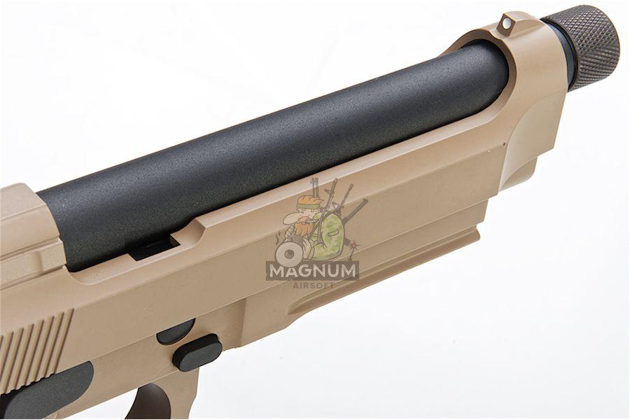 M9A1 GAS TAN TBC 3 - Пистолет KJW M9A1 GBB, GAS M9A1-TBC.GAS TAN