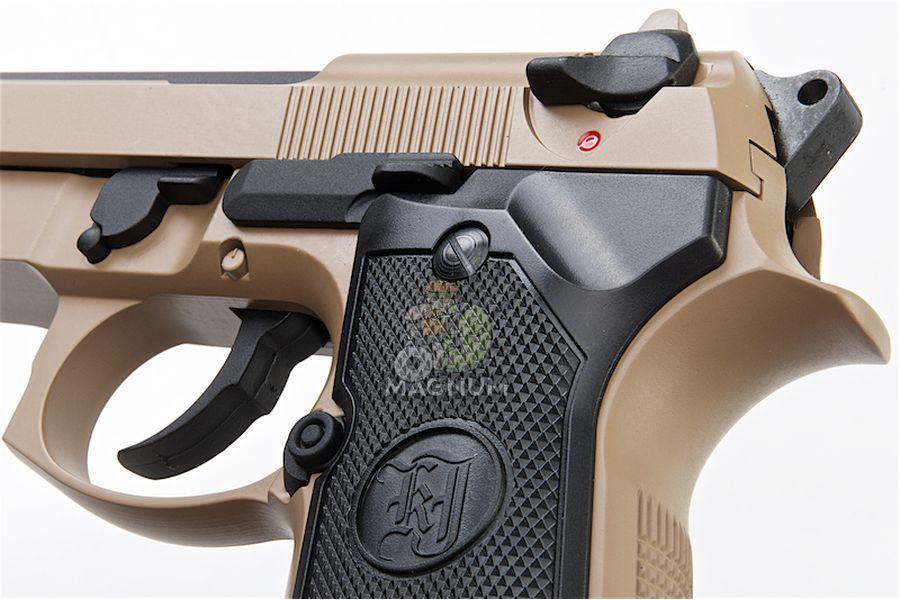 M9A1 GAS TAN TBC 4 - Пистолет KJW M9A1 GBB, GAS M9A1-TBC.GAS TAN