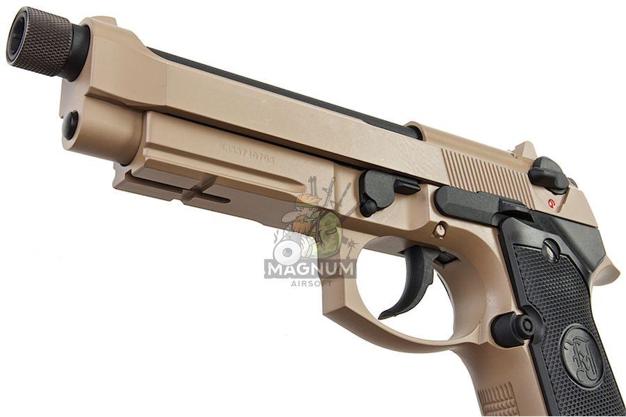 M9A1 GAS TAN TBC 5 - Пистолет KJW M9A1 GBB, GAS M9A1-TBC.GAS TAN