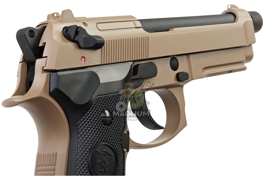 M9A1 GAS TAN TBC 6 - Пистолет KJW M9A1 GBB, GAS M9A1-TBC.GAS TAN