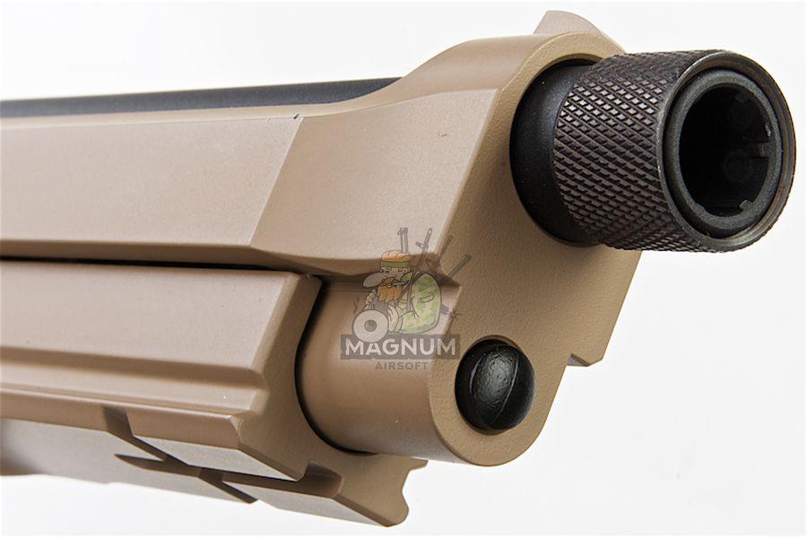 M9A1 GAS TAN TBC 7 - Пистолет KJW M9A1 GBB, GAS M9A1-TBC.GAS TAN