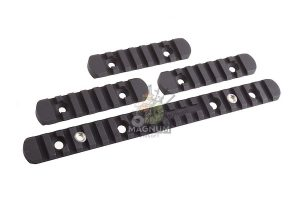 Madbull PRI licensed GIII Round 12.5 inch Rail w/ Extra Adjustable Rail Sections - TN (Mat. Polymer)