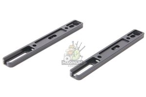 Renegade-tech CNC Aluminum Picatinny Rail (M-Lok) for SCAR Series - Black