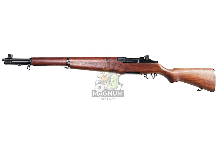 Marushin M1 Garand Superior Walnut Stock - (6mm Gas Version)