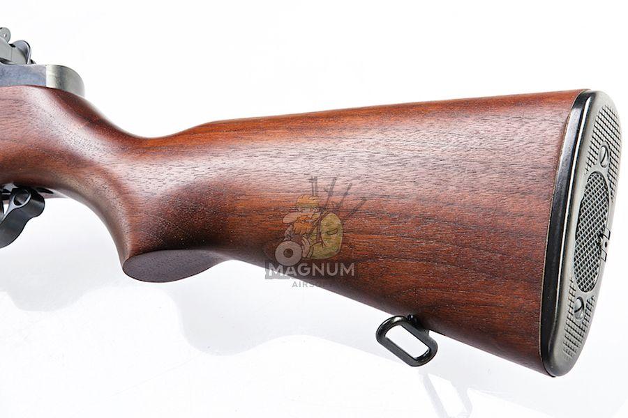 Marushin M1 Garand Superior Walnut Stock - (6mm Gas Version)