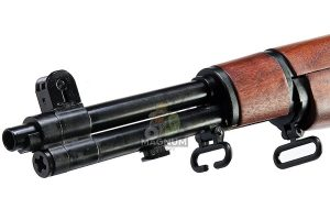 Marushin M1 Garand Tanker Superior Walnut Stock - (6mm Gas Version)