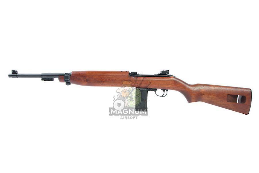 Marushin M1 Garand EXB2 Walnut 6mm Co2 Blowback Version (Brass Piston)