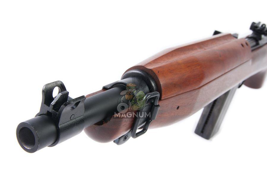 Marushin M1 Short EXB2 Walnut 6mm Co2 Blowback Version (Brass Piston)