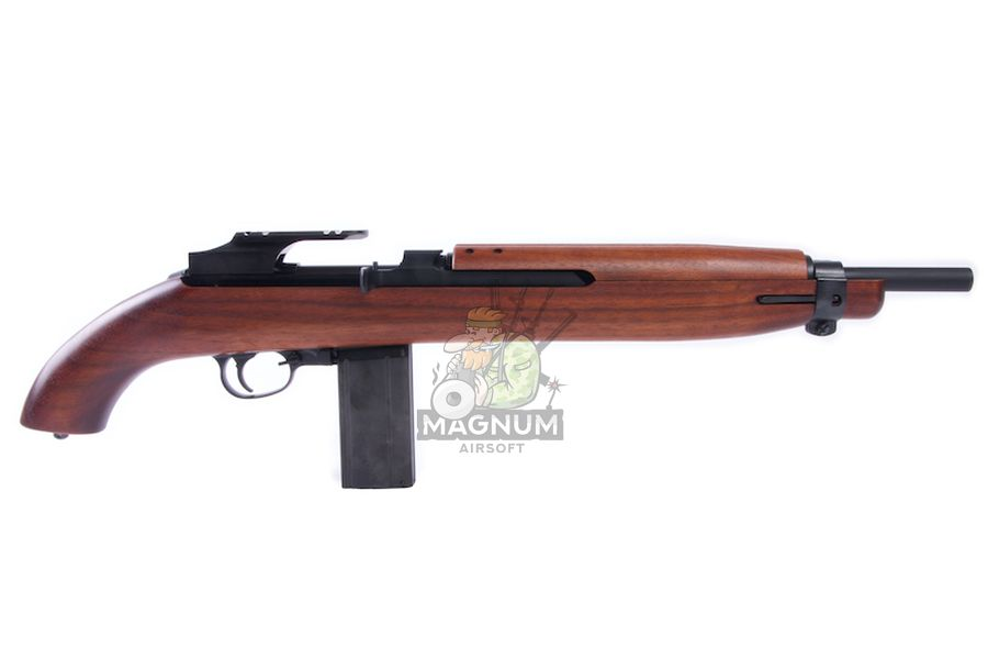 Marushin M1 Short EXB2 Walnut 6mm Co2 Blowback Version (Brass Piston w/ Scope Mount)