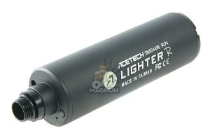 ACETECH Lighter R Pistol Tracer Unit - Black (M14CCW) with M11CW Adaptor, Micro USB charging cable
