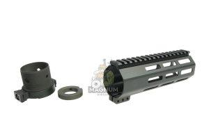 RGW M4 QD Takedown System MLOK Handguard for WE /VFC M4/ AR15 GBBR - Black (7 inch)