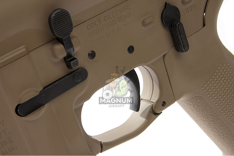 RWC MWS M4 Combat GBBR - Cerakote FDE