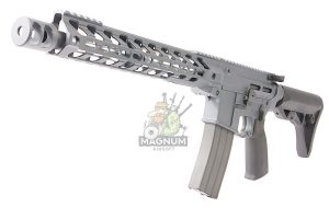 RWC Action Air Rifle IPSC M4 GBBR (Cerakote Grey)