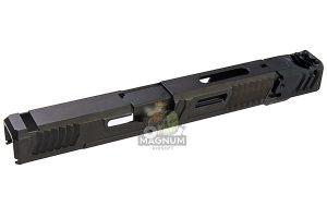 SAT CNC Steel Lok Tactical Slide Set w/ Outer Barrel & Comp for Tokyo Marui G17 GBB