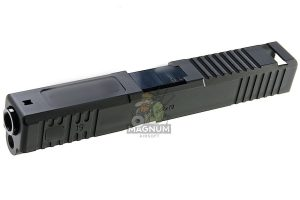 Detonator Aluminum Boresight Solutions Slide Set for Tokyo Marui Model 19 GBB - Matt Black
