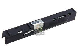 Detonator Aluminum 5 inch Performance Centre Ported Slide Set for Tokyo Marui  M&P9L PC GBB - Matt Black