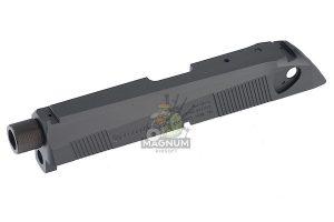 Detonator SD Custom Slide Set for Tokyo Marui PX4 - Aluminum Black