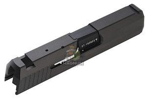 Detonator Slide Set for Tokyo Marui USP Compact - Aluminum Black