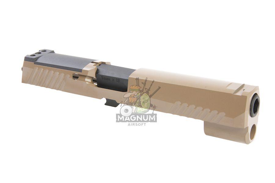 TAITAN Airsoft CNC Steel Slide Set for SIG AIR / VFC P320 M17 GBB Series