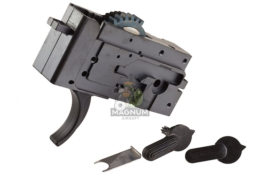 Systema PTW CQBR Value Kit 1 (Included Ambidextrous Gear Box) - Upgrade Kit (M110 Cylinder)