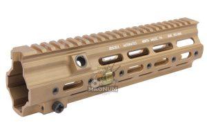 Z-Parts CNC Aluminum 10.5 inch 416 SMR handguard for Systema PTW/VIPER/Umarex (VFC) 416 AEG, GBB - DDC