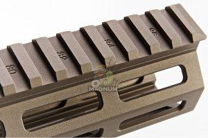 Z-Parts CNC Aluminum 9.3inch Handguard for Tokyo Marui SOPMOD M4/ M16 AEG (with MK16 Barrel Nut) - DDC