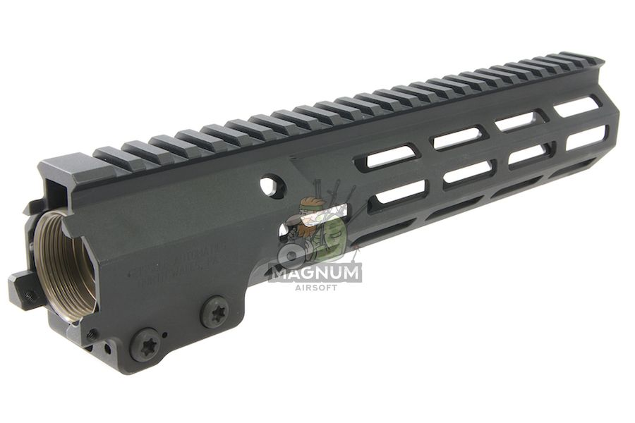 Z-Parts MK16 M-Lok 10.5 inch Rail for Tokyo Marui M4 MWS GBBR Series (w/ Barrel Nut) - Black