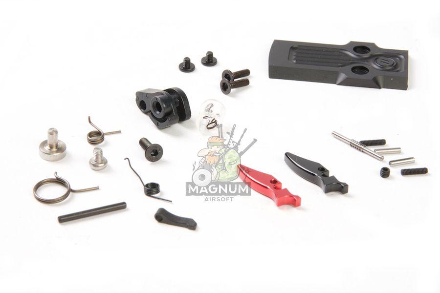 PTS ZEV OMEN Slide Kit for Tokyo Marui G17 GBB Pistol (Leupold DP-PRO Cut) - Black