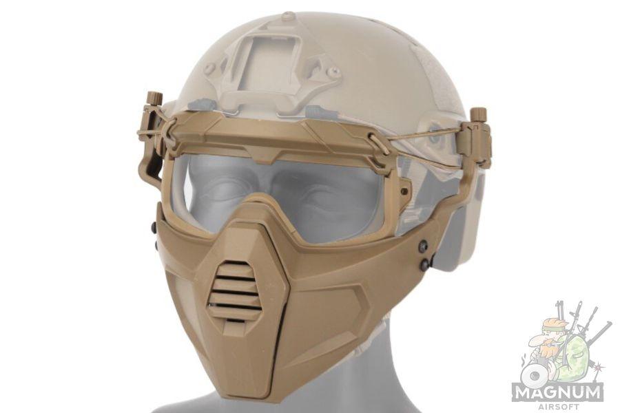 AS MS0158T - МАСКА МАНДИБУЛА Tactical Multidimentional Split Type Set AS-MS0158T