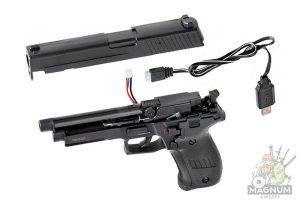 CM122S 3 300x200 - Пистолет P226 CYMA AEP CM122S