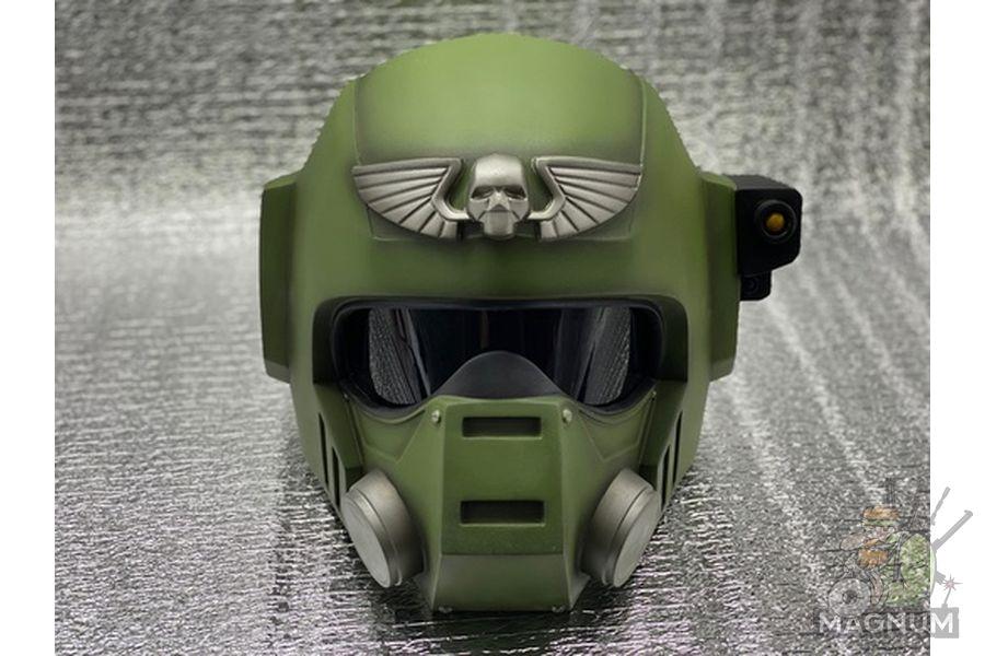 Kasrkin W40k 1 - Шлем Касркин Warhammer 40000
