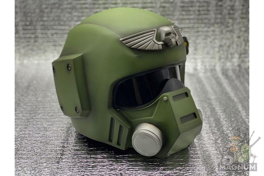 Kasrkin W40k 4 - Шлем Касркин Warhammer 40000