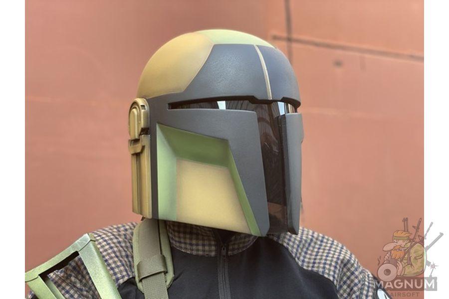 Mandalorian The Guardian 5 - Шлем Мандалорец The Warden