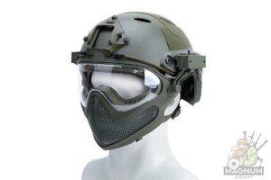 AS HM0130OD 300x200 - Страйкбольный шлем AS-HM0130OD